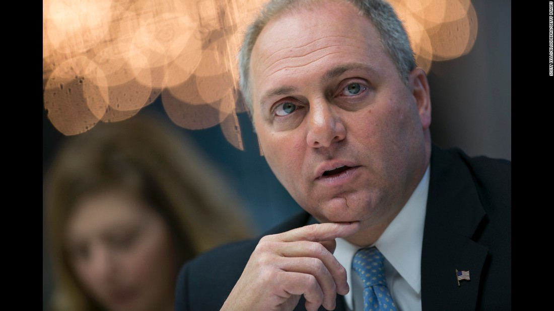 "US Rep. Steve Scalise, the House majority whip, was critically injured when he was shot during a congressional baseball practice in June. The Louisiana Republican was eventually released from intensive care, but he <a href=""http://www.cnn.com/2017/07/05/politics/steven-scalise-health/index.html"" target=""_blank"">has been readmitted</a> ""due to new concerns for infection,"" a statement from his office said on Wednesday, July 5."