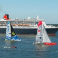 05 transatlantic race Queen Mary trimaran new york RESTRICTED