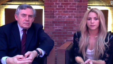 Gordon Brown and Shakira: G20 leaders agreed to education financing, now comes the harder part