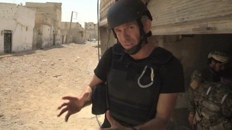 Syrian forces inching towards each other in Raqqa, US official says