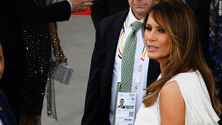 Melania Trump's whirlwind day at G20 summit