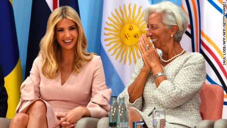 Ivanka Trump sits in for dad at G20 meeting