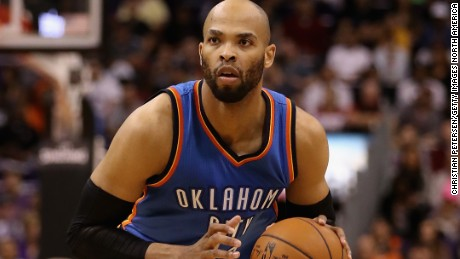 Taj Gibson joined the Oklahoma City Thunder last season, but recently signed a contract with the Minnesota Timberwolves.