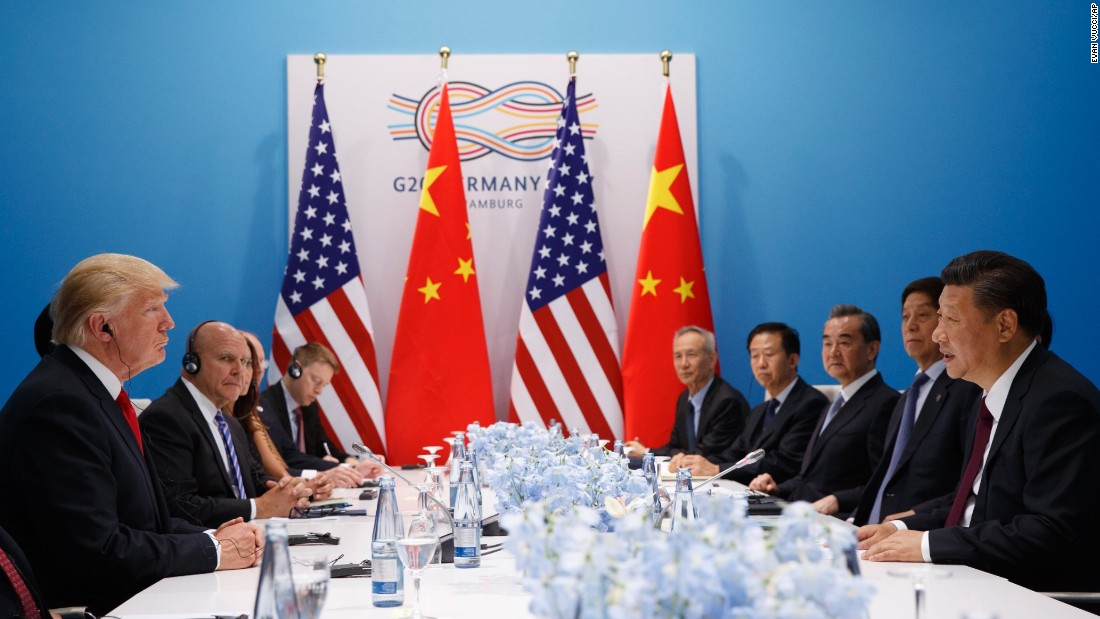 "<a href=""http://www.cnn.com/2017/07/08/politics/north-korea-trump-xi/index.html"" target=""_blank"">President Donald Trump meets with Chinese President Xi Jinping</a> at the G20 summit on Saturday, July 8, in Hamburg, Germany."
