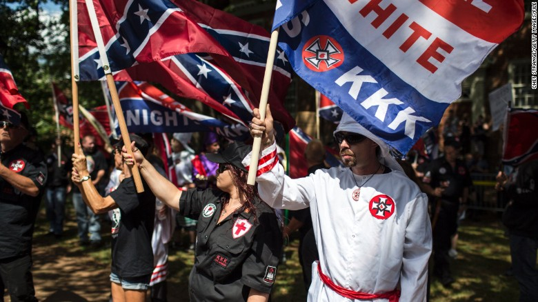 KKK rally met with counterprotesters