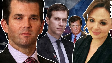 Timeline of Donald Trump Jr.'s meeting revelations