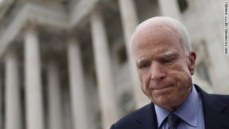 McCain on his cancer prognosis: It's 'very, very serious'
