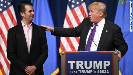 Donald Trump Jr.'s long path to politics
