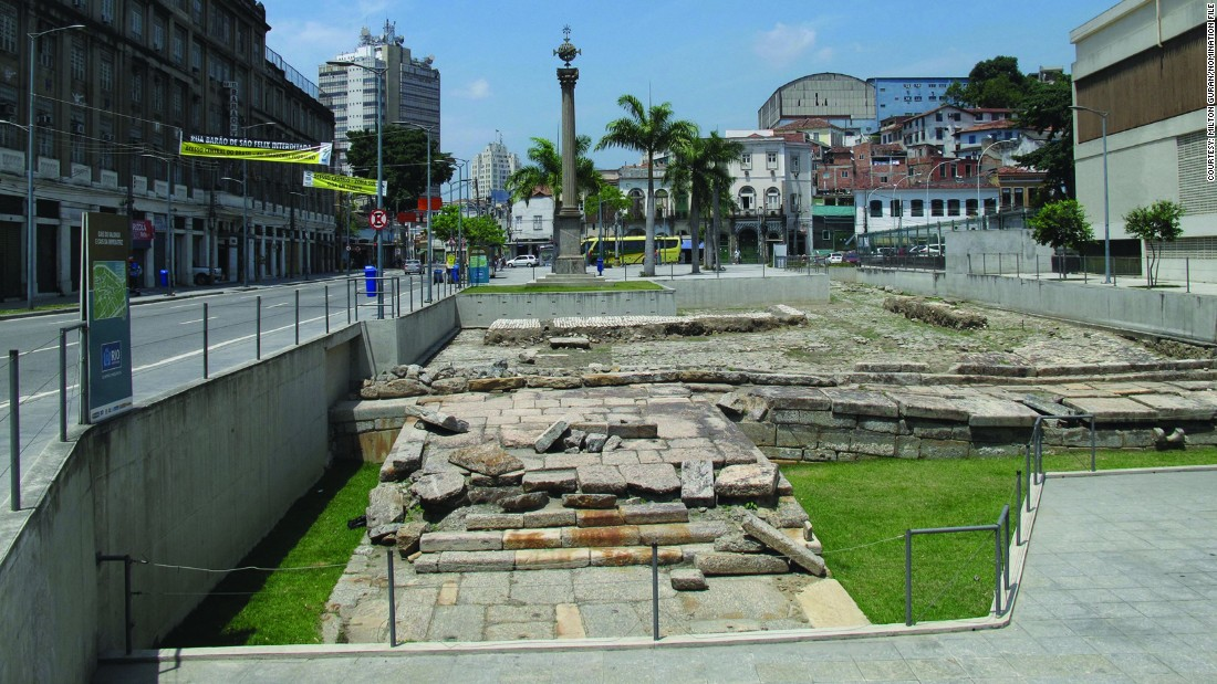 Not strictly African, but the city of Rio de Janeiro, and the country of Brazil, have inextricable ties to the continent due to the history of slavery. The Valongo Wharf is one of the most significant physical traces of this legacy, being the arrival point for 900,000 enslaved Africans in the early 19th century.<br />