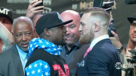 McGregor hits at Mayweather's money issues
