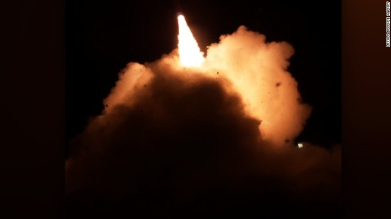 Watch US conduct missile defense test