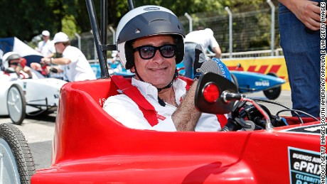 BUENOS AIRES, ARGENTINA - FEBRUARY 6:  In this handout image supplied by Formula E, Alejandro Agag - CEO, Formula E Holdings, during the Buenos Aires Formula E race at Puerto Madero Street Circuit on February 6, 2016 in Buenos Aires, Argentina. (Photo by Adam Warner/LAT/Formula E via Getty Images)