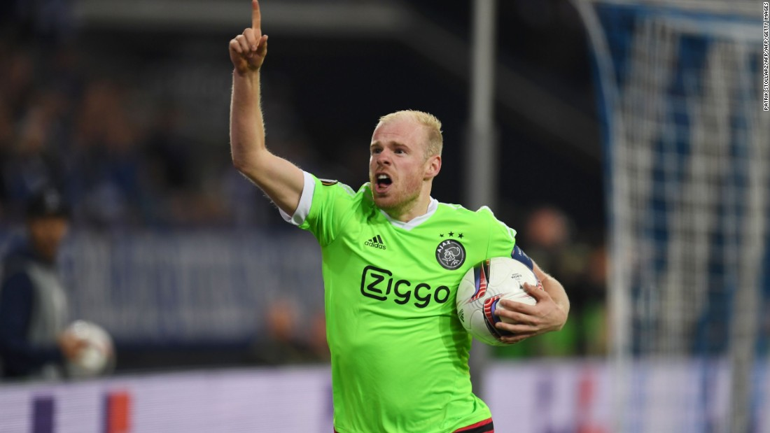 Davy Klaassen's Ajax finished the season without securing any silverware, but the 24-year-old did guide his side to the Europa League final.