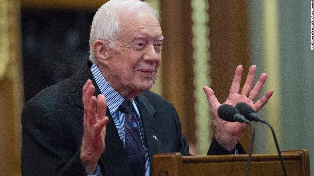 Jimmy Carter wants to partner with Trump