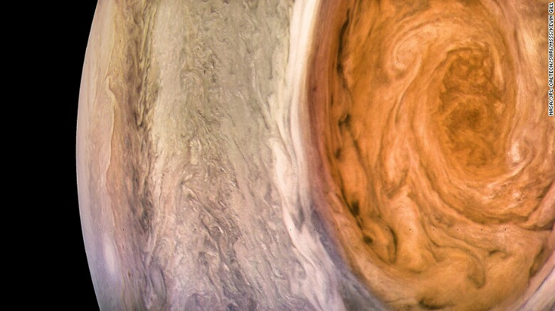 A closer look at Jupiter's Great Red Spot