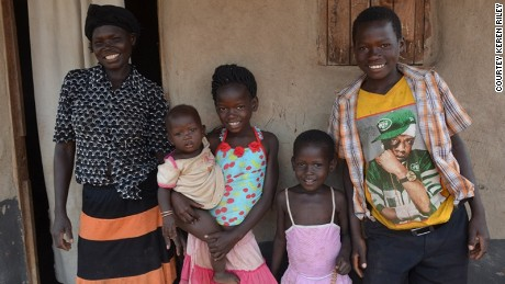 The 'orphan' I adopted from Uganda already had a family
