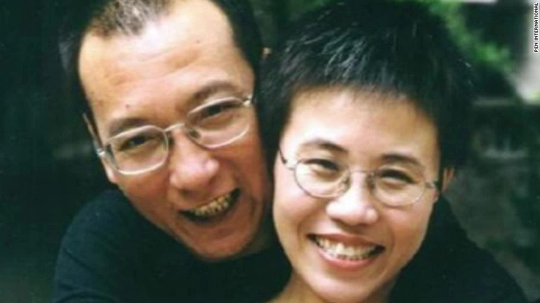 Widow of Chinese dissident Liu Xiaobo arrives in Germany