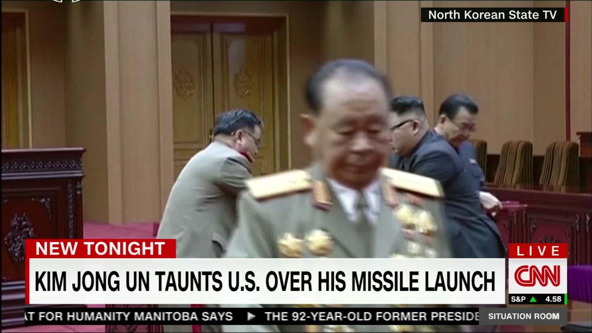 Kim Jong Un Gives Awards To Rocket Scientists   CNN Video