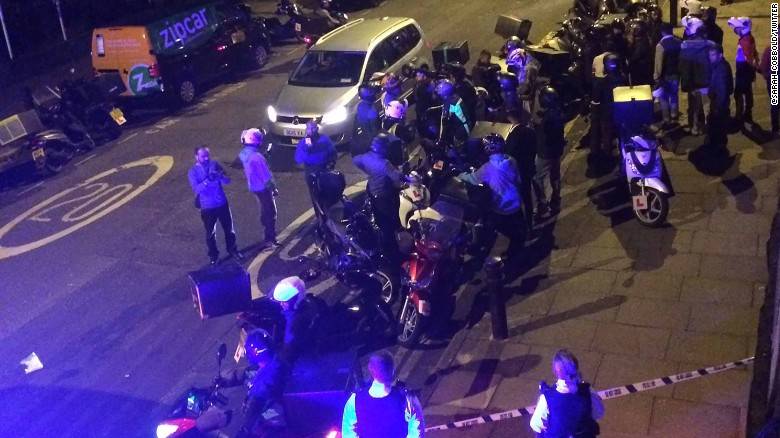 5 acid attacks in 1 night in London