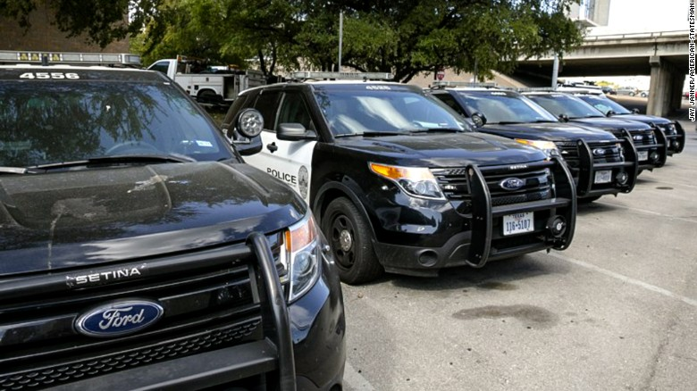 austin police department ford explorers