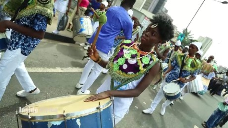 This African country sure knows how to Samba