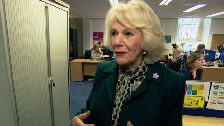 CNN speaks to the Duchess of Cornwall