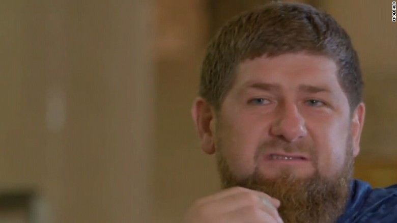 Chechen leader: 'We don't have any gays'