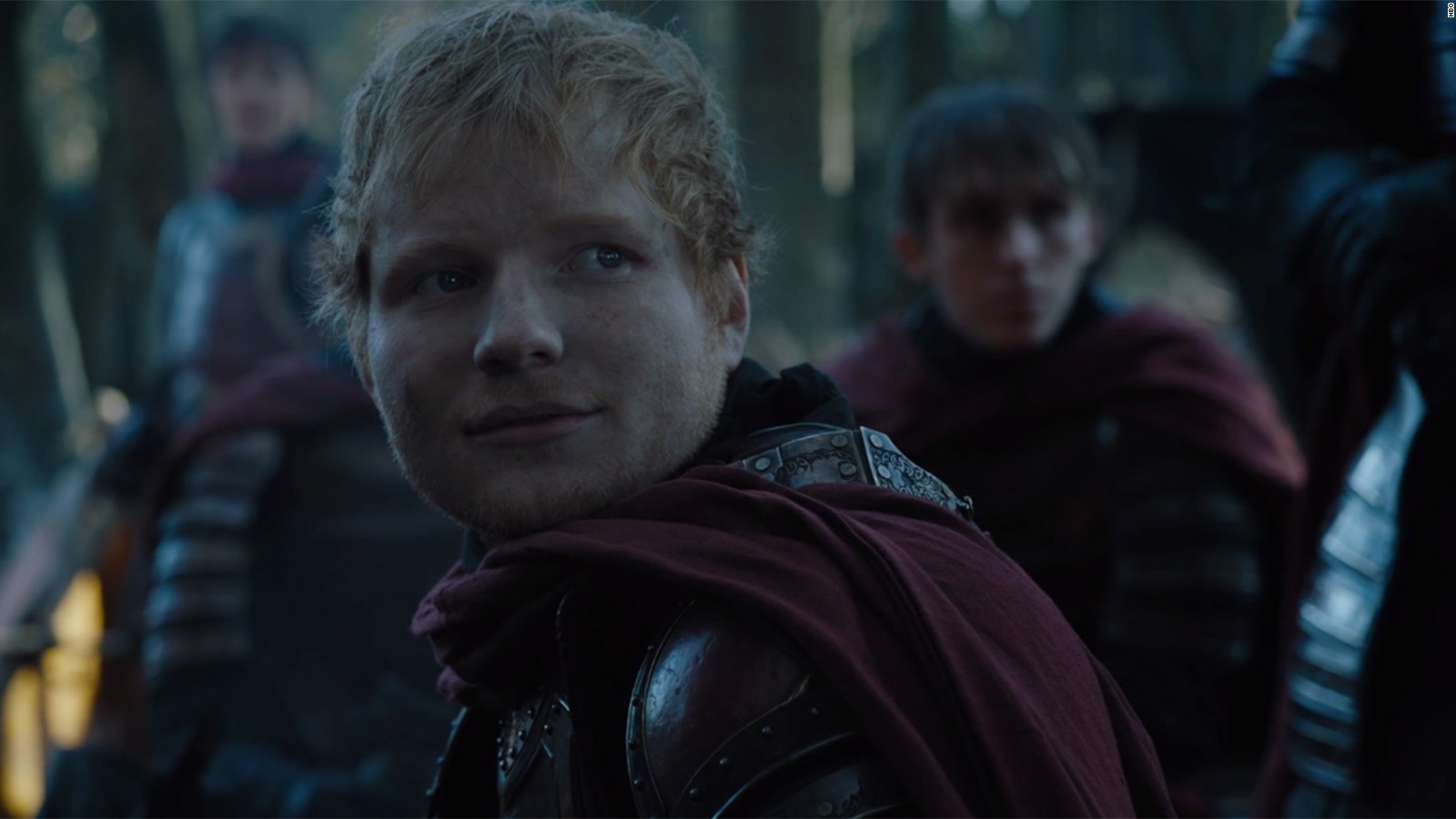 Ed Sheerans Game Of Thrones Cameo Draws Jeers CNN - 17 hilarious reactions to ed sheeran appearing in game of thrones