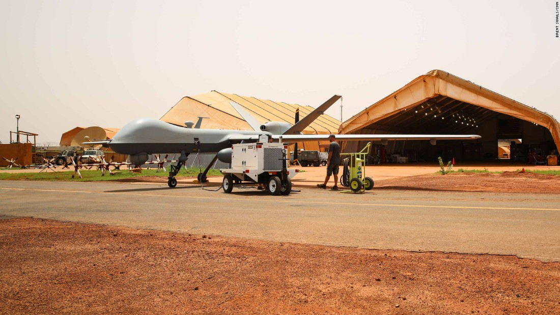 "From 2018, AFRICOM will launch its MQ9 Reapers -- ""hunter/killer"" drones with advanced intelligence gathering capabilities -- from Air Base 201 in Agadez."