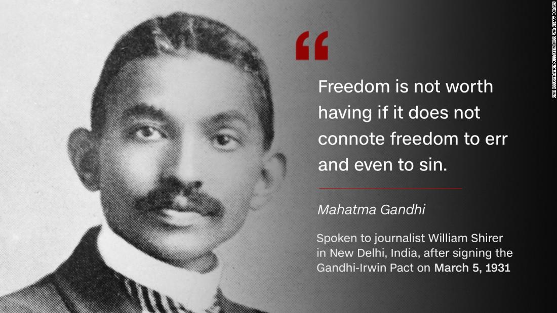 Gandhi Quotes: Mahatma Gandhi: 'Soldier Of Peace