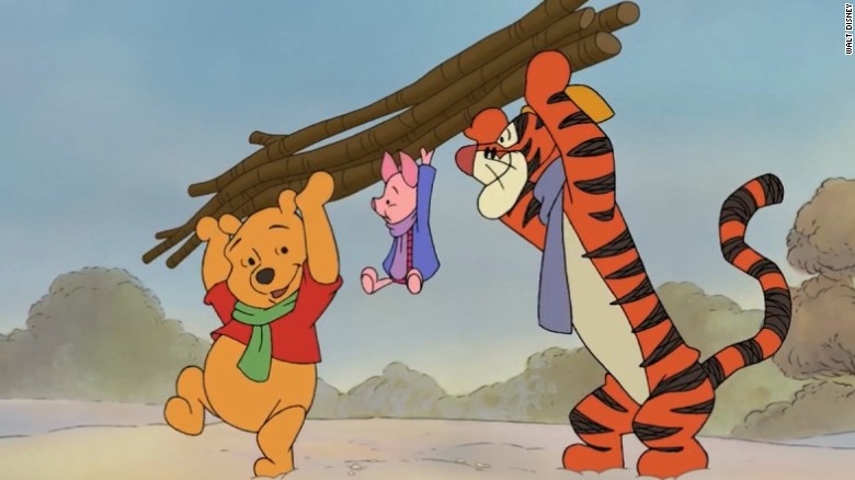 Chinese internet censors crack down on  Winnie the Pooh  CNN