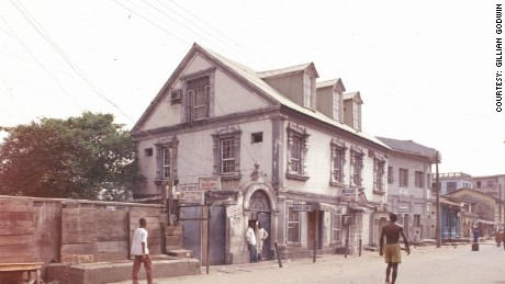 """Doherty House"" in Lagos' Brazilian quarter."