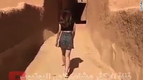 Saudi police release woman in miniskirt video
