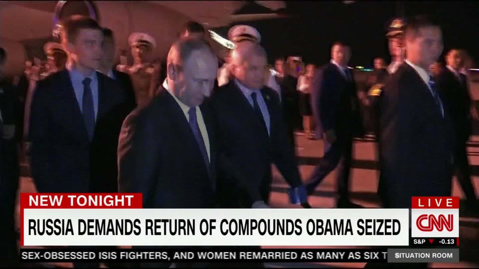 Russia Demands US Return Two Compounds   CNN Video