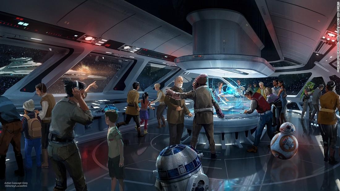 Disney reveals new 'Star Wars' immersive hotel