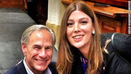 Trans woman takes photo with Texas governor ahead of 'bathroom bill' debate