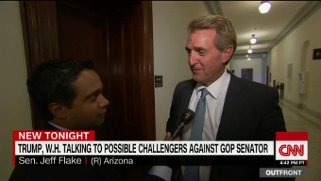 Flake: 'A senator shouldn't be a rubber stamp for what the President wants'
