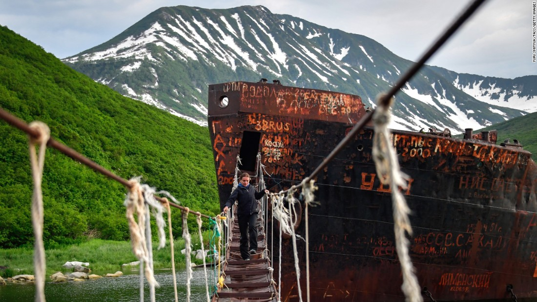 <strong>Russkaya Bay, Russia: </strong>The fjord-like Russkaya Bay lies on the Avacha Bay on the southeast coast of the remote Kamchatka Peninsula in eastern Russia.