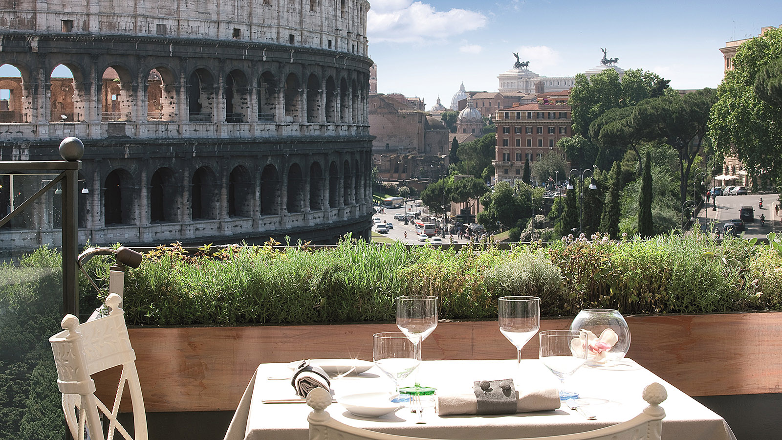 Rome S Outdoor Restaurants The Best Al Fresco Dining Cnn