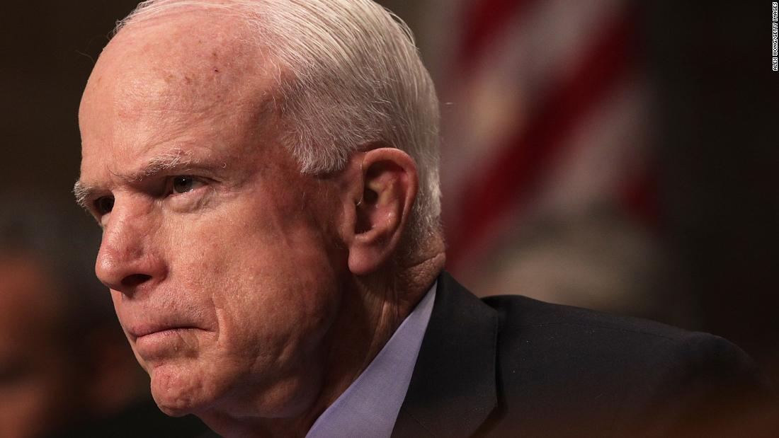McCain keeps serving revenge to Trump ice cold