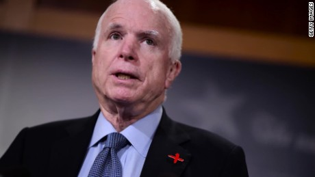 John McCain to return to Senate Tuesday for health care vote