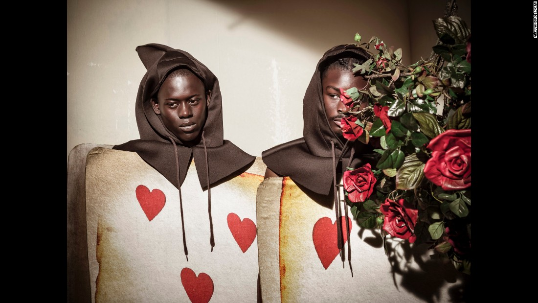 Alpha Dia and King Owusu are playing cards in the famed calendar.