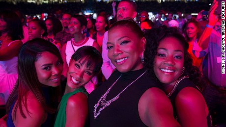 Regina Hall, Jada Pinkett Smith, Queen Latifah and Tiffany Haddish in 'Girls Trip'
