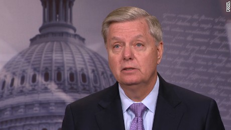 Graham at CPAC: Trump and I did not start off well but now 'I like him and he likes him'