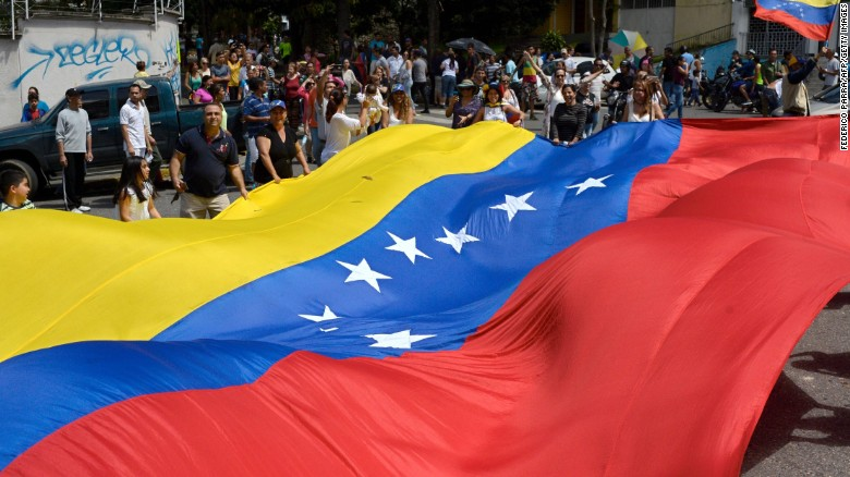 Venezuela's opposition party calls for strike