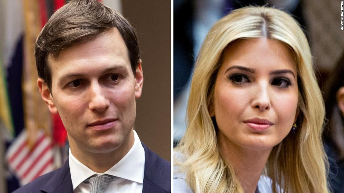 Jared and Ivanka are failing a basic moral test