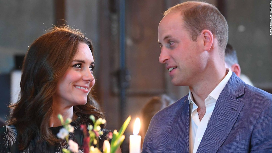 William and Catherine attend a reception at Claerchens Ballhaus dance hall in Berlin on Thursday, July 20.