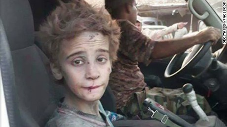 Boy rescued from ISIS: Canada please help me