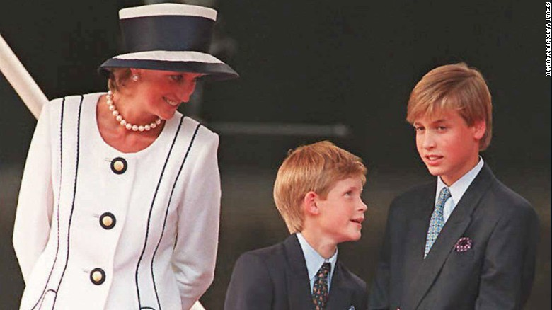 Princess Diana's sons haunted by final call
