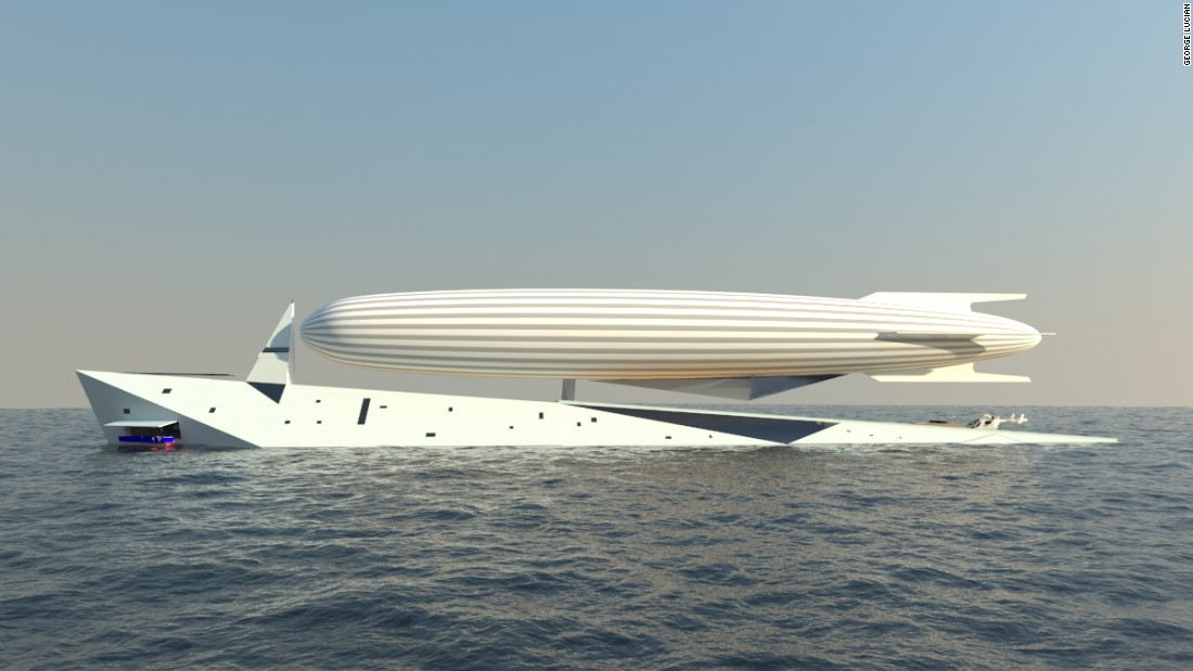 At 140 meters in length, Dare to Dream has the space to host at least 12 guests, though there will also be entertaining and living spaces on board the airship.
